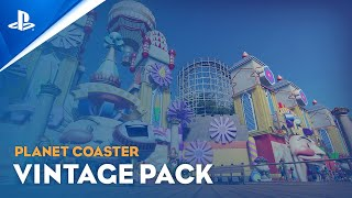 Planet Coaster: Console Edition - Vintage Pack Trailer | PS5, PS4