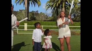 Ciara and Russell Wilson reveal their baby's gender in amazing family video l GMA Digital