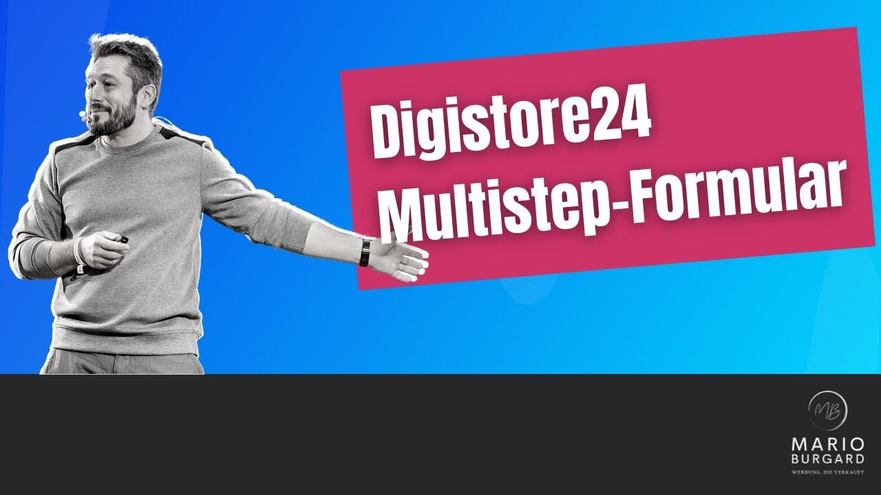 Digistore24 Geld verdienen: Multistep Bestellformular anpassen