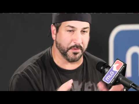 Joey Fatone talks Major League Gaming and Karaoke Battle USA