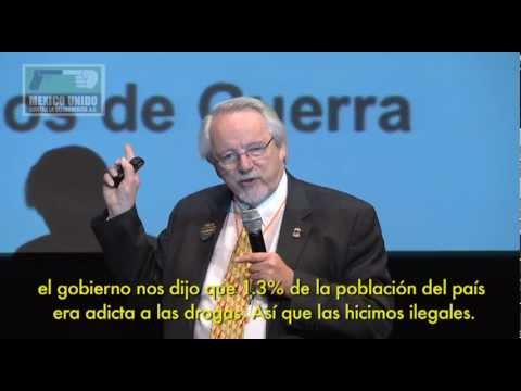 Jack Cole. Foro Internacional: Drogas un balance a un siglo de su prohibición