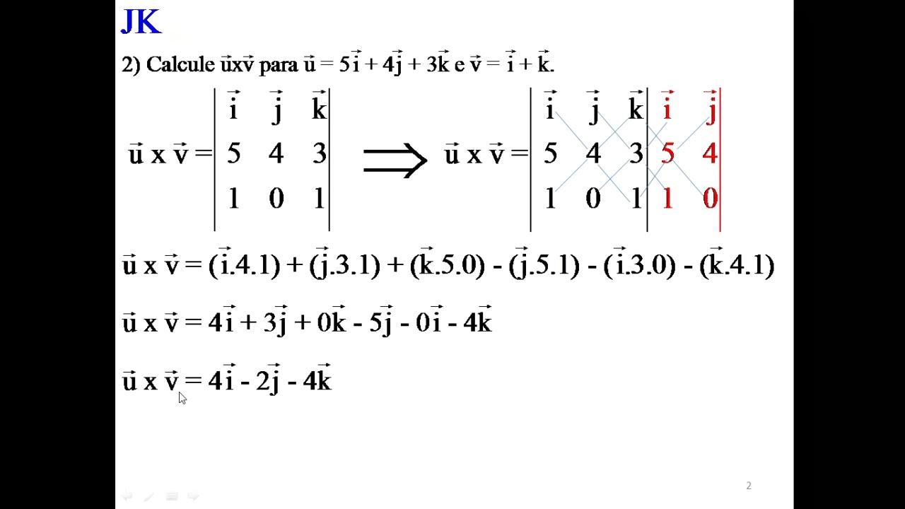 Calculo Vetorial E Geometria Analitica Exercicios Resolvidos Pdf