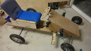 Selbstgebautes Elektroauto 36Km/h