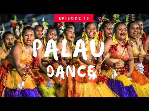 【Palau traditional Dance】Song & Music in Festpac Guam パラオ共和国伝統ダンスショー<グアム2016太平洋芸術祭>