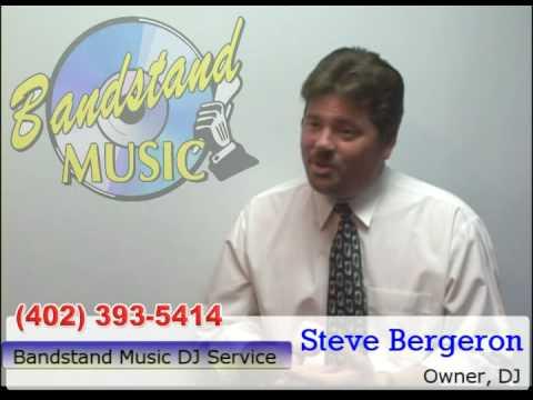 Omaha wedding dj Steve from Bandstand Music DJ service