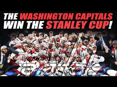 The Washington Capitals Win the Stanley Cup!