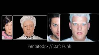 pentatodrix side by side todrick hall and pentatonix