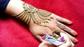 Jewellery Mehndi Design 2018 --New Creation|Thought of Creation