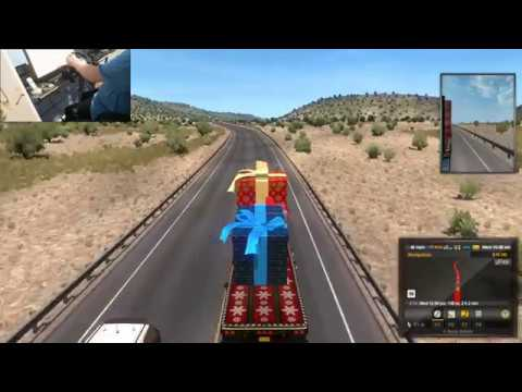 American Truck Simulator With G920 Steering Wheel + Webcam (Live Streaming)#2