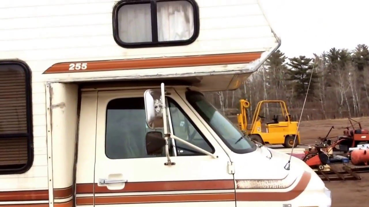 1982 Chevrolet Motor home - YouTube on