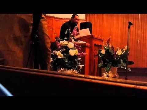 Cogic preaching