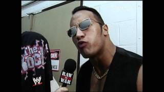 The Rock Promo Raw 9/20/99