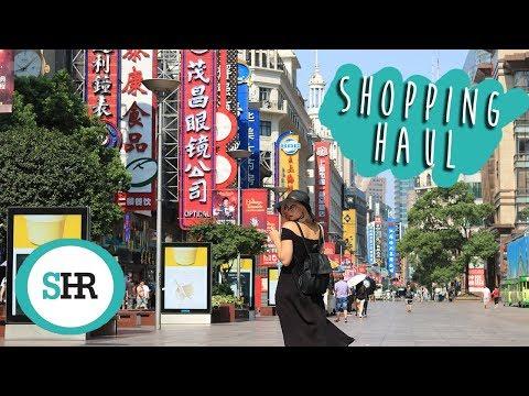 CHINA SHOPPING HAUL | Shanghai & Hong Kong