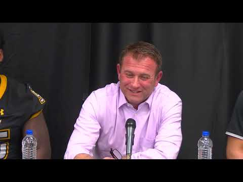 Towson Football Press Conference following loss to Duquesne
