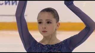 Камила Валиева Первенство России среди юниоров 2020 Короткая программа
