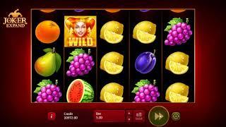 Игровой автомат Joker Expand: 5 Lines (Playson)