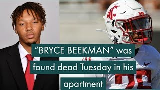 """bryce Beekman"" Washington State Football Player Dead At 22"