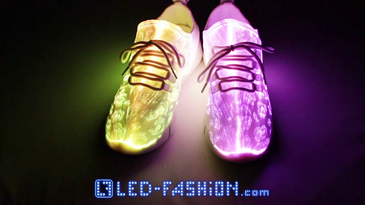new arrival 8a976 1d3c2 Glasfaser Sommer LED-Schuhe Multicolor
