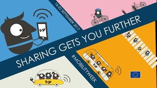 Sharing gets you further - EUROPEAN MOBILITY WEEK 2017 thumbnail