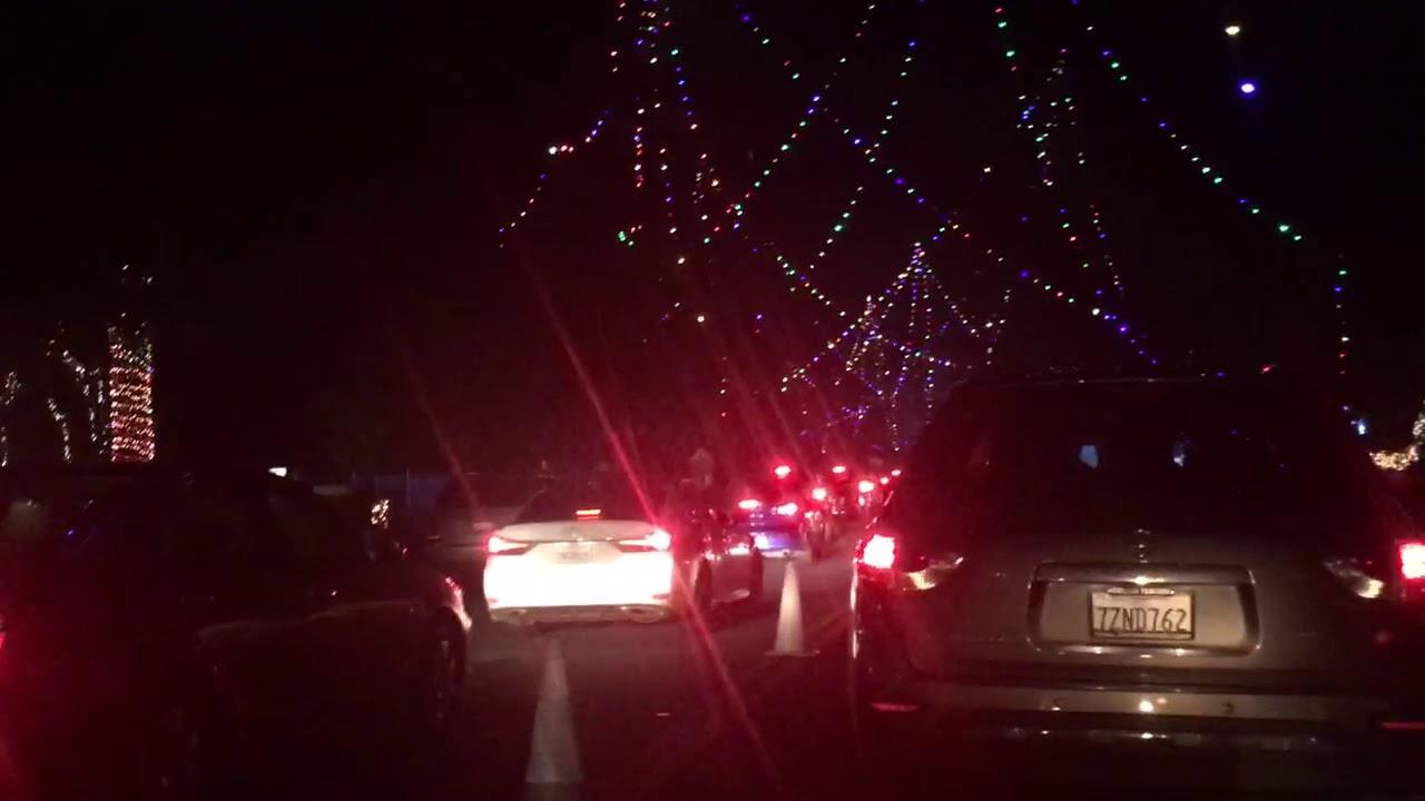 Christmas Tree Lane Fresno - YouTube