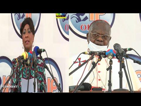EXCLUSIF: BOYOKA MESSAGE YA SOMO Mrs MOSENGO  APESI NA INAUGURATION DE L&39; HOPITAL DE MA O LEMBE