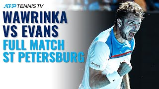 Stan Wawrinka v Dan Evans - Full Tennis Match | St Petersburg 2020
