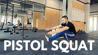 Pistol Squat - Progressioni Forza e Mobilità caviglia