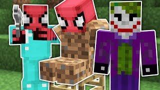 Fakir Örümcek Adam Kaçırıldı - Minecraft Zengin vs Fakir Örümcek Adam Video