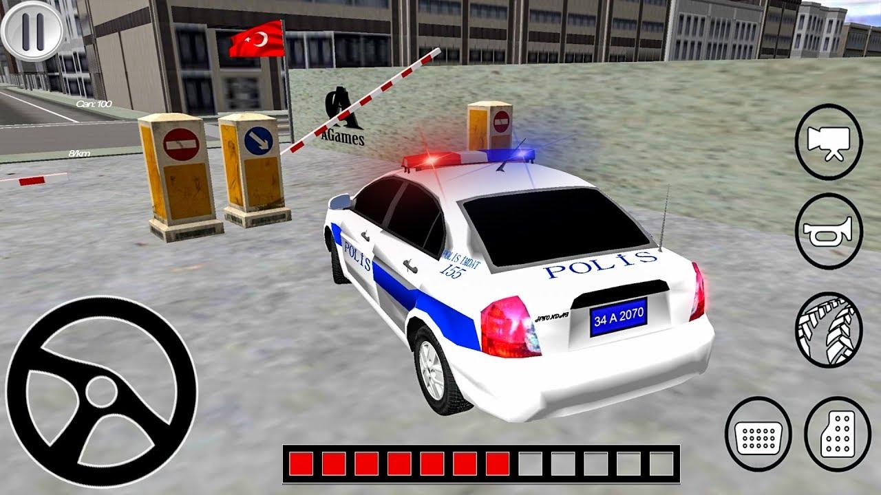 Polis Simulator Turk Polis Arabasi Oyunu Police Oyunu