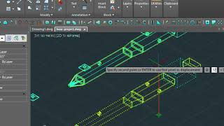 Drawing a 3D Ducting System