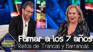 Carmina Barrios confiesa cómo empezó a fumar con sólo 7 años - El Hormiguero 3.0