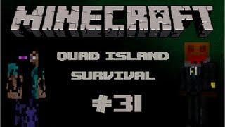 Minecraft: Quad Mountain Survival W/ Conart&Flyinpie Ep.31: GOLDEN PARKOUR