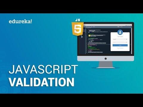 JavaScript Validation   Form Validation using JavaScript   JavaScript Tutorial   Edureka