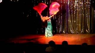 Irisis Ghadim en muestra de escuela Fabycor Zahraa 2012