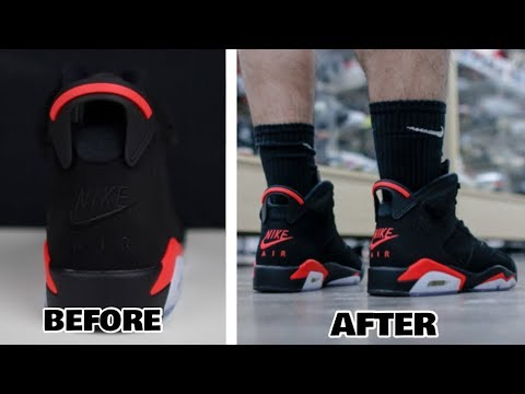 "4dfdde3f477f78 Authentic Air Jordan 6 ""Black Infrared"" from facegooo.club - YouTube"