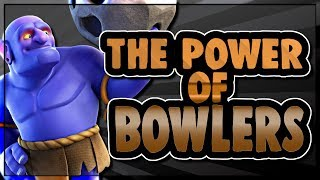 THE POWER OF BOWLERS | AWL INHUMANS WAR | Clash of Clans