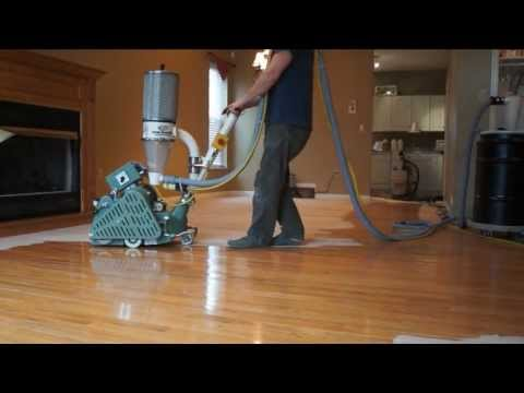 Charleston Hardwood's Dustless Floor Sanding