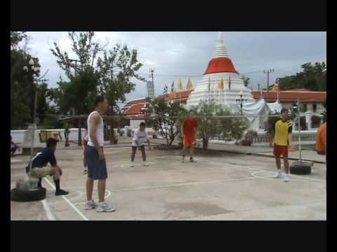 Koh Kret and takraw game