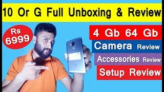 Tenor 10 Or G 4Gb 64Gb Full Honestly Unboxing & Review ( in Hindi ) By Digital Bihar ||