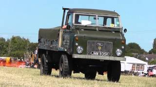 Trucks In showring - West Oxon Steam and Vintage Show  - 2015 England