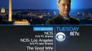 2010 CBS NCIS NCIS: Los Angeles Tuesday Promo