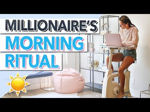 MORNING ROUTINE OF A SUCCESSFUL ENTREPRENEUR!