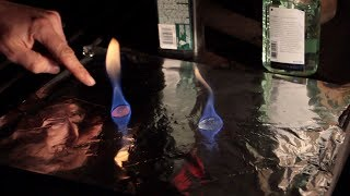 8 Weeks Winter Camping - Hand Sanitizer To Start Fire