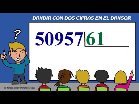 Dividir con dos cifras en el divisor. Dividir entre dos cifras 07 from YouTube · Duration:  3 minutes 24 seconds
