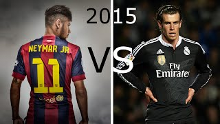 Neymar Jr vs Gareth Bale - 2015 ● Skills & Goals ● HD