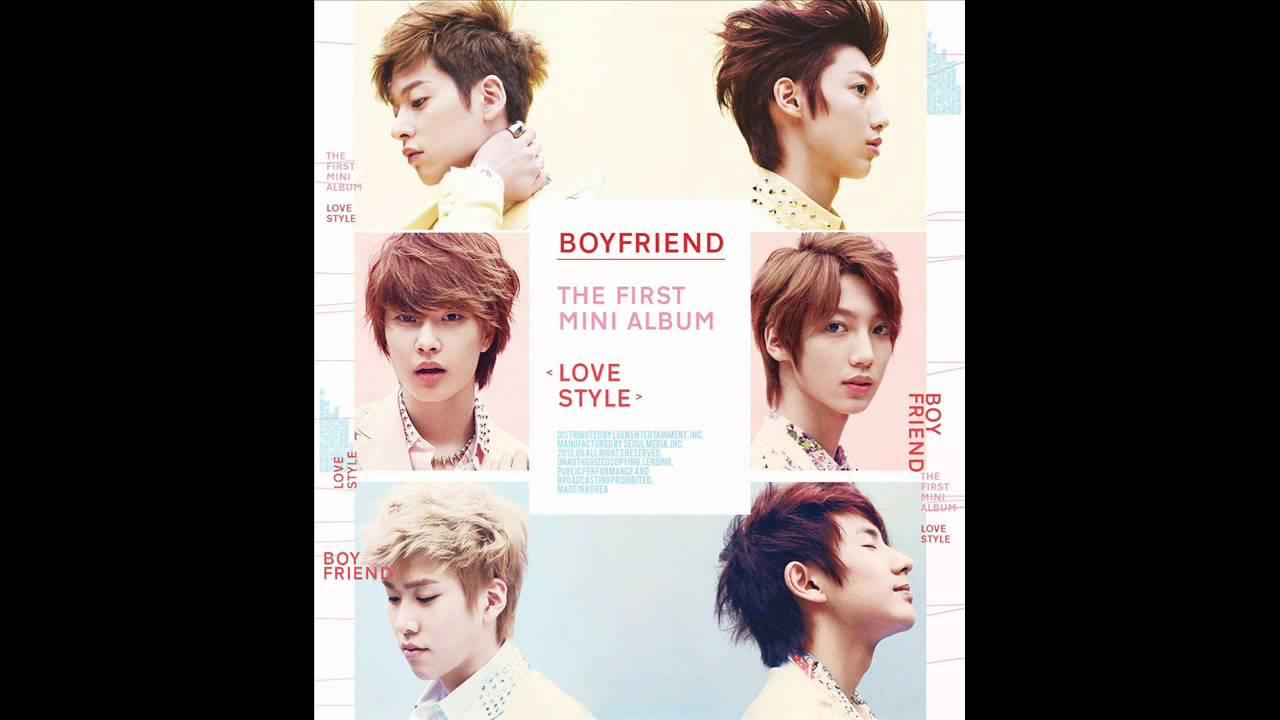 [ 01. Boyfriend (보이프렌드) - I'm In Love ]