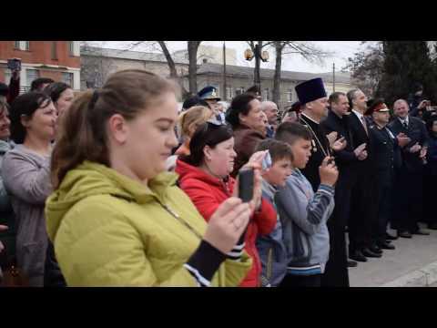 "Momente de la aniversarea a 26-a a Brigăzii ""Moldova"" la Bălți"