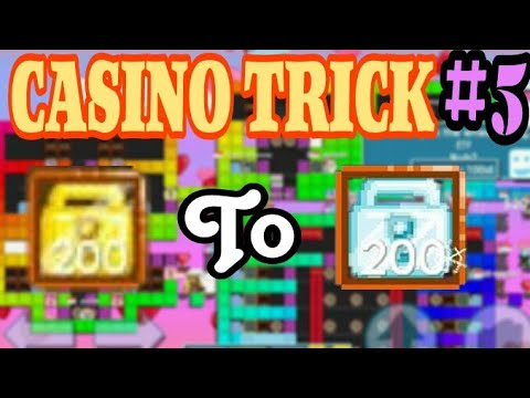 CASINO TRICK #5 | BETTING 50WLS TO 10DL | EASY TO RICH  - GROWTOPIA