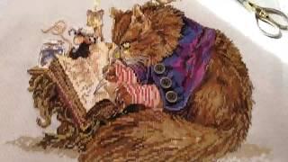 кот каллиграф по китайскрму набору от Амишоп