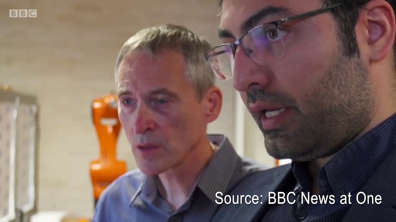 BBC News at One interviews the Birmingham Centre for Strategic Elements and Critical Materials